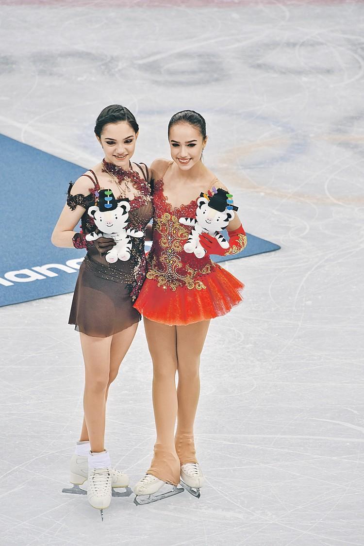 Евгения Медведева и Алина Загитова надеются на новые победы.