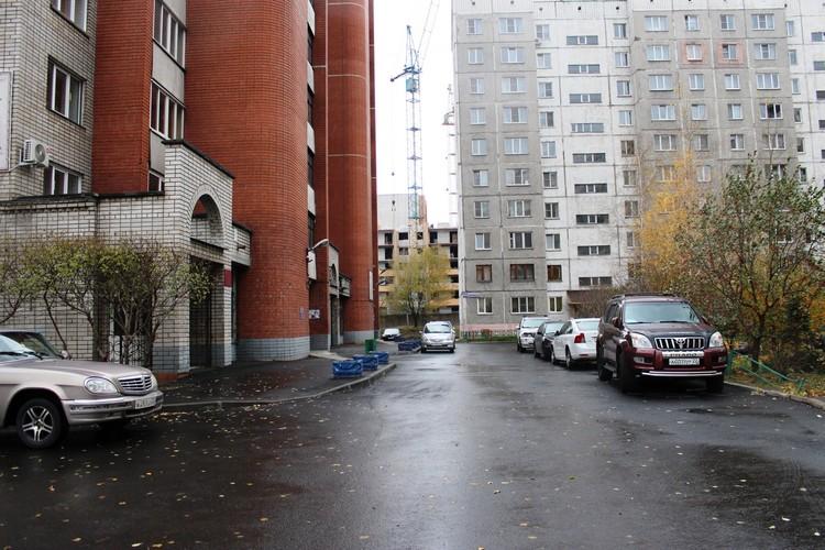 двор по ул.Ядринцева, 88 после ремонта