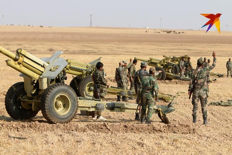 Дамаск сейчас перебрасывает мощные силы на северо-восток страны.