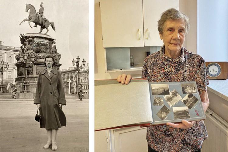 Карина Владимировна только в конце 80-х узнала, что является дальней родственницей того самого скульптора Клодта, который создал памятник Николаю I. Фото и пересъёмка Алёны Чичигиной.