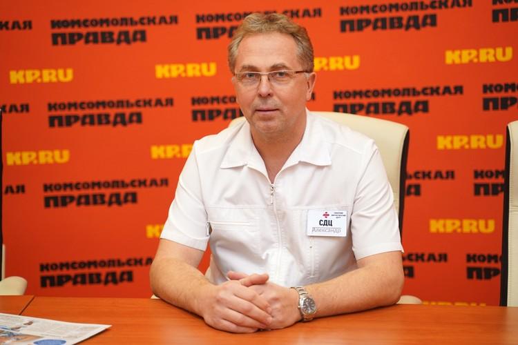Врач-уролог Александр Радаев