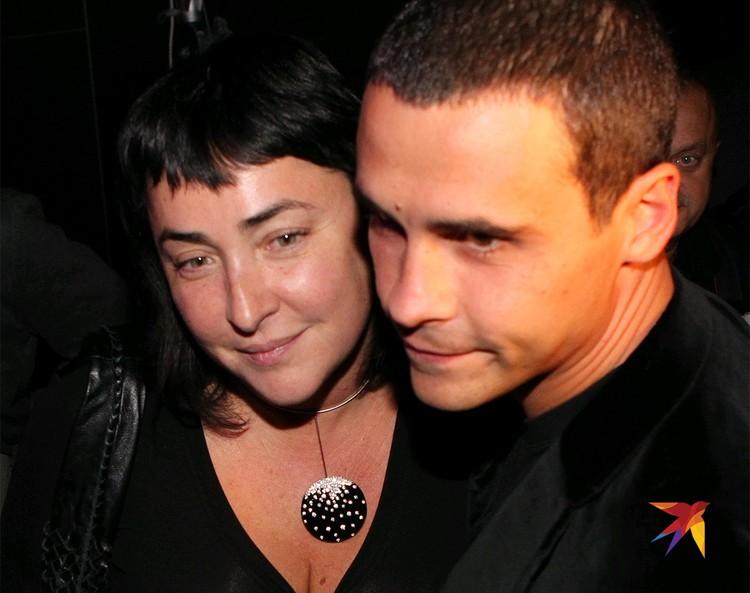Лолита Милявская с Дмитрием Ивановым, 2010 год.