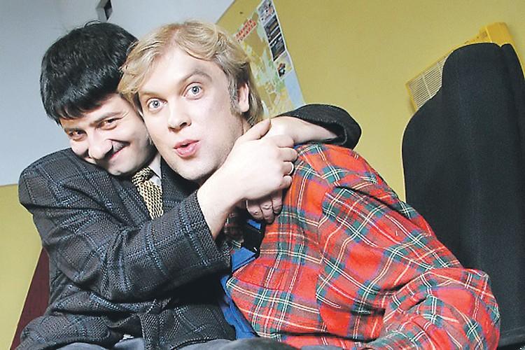 Михаил Галустян и Сергей Светлаков. Фото: ТНТ