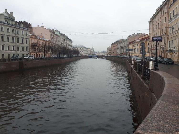 Тело девушки было выброшено в реку Мойка