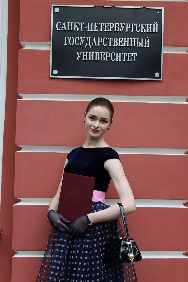 Отношения с Анастасией у Соколова начались, когда девушка еще училась в магистратуре
