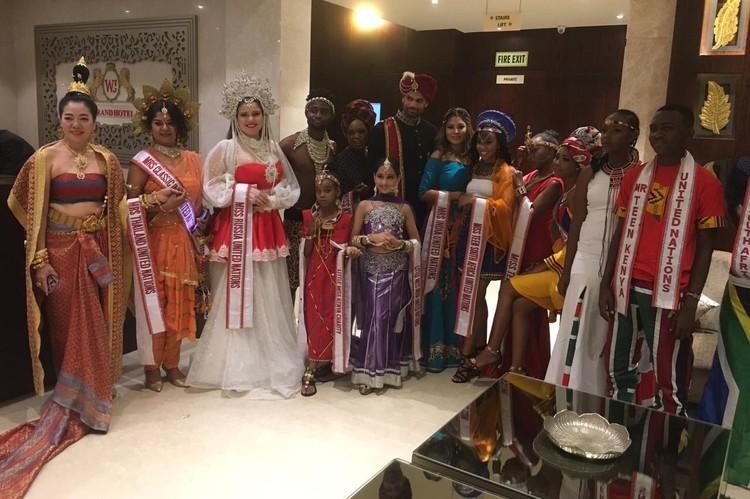 На конкурсе национальных костюмов россиянка сразила жюри наповал.