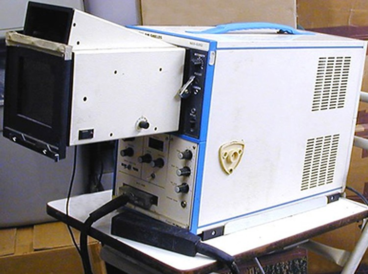 ALOKA — 202. Первый аппарат, на котором работал В.П. Звягин.