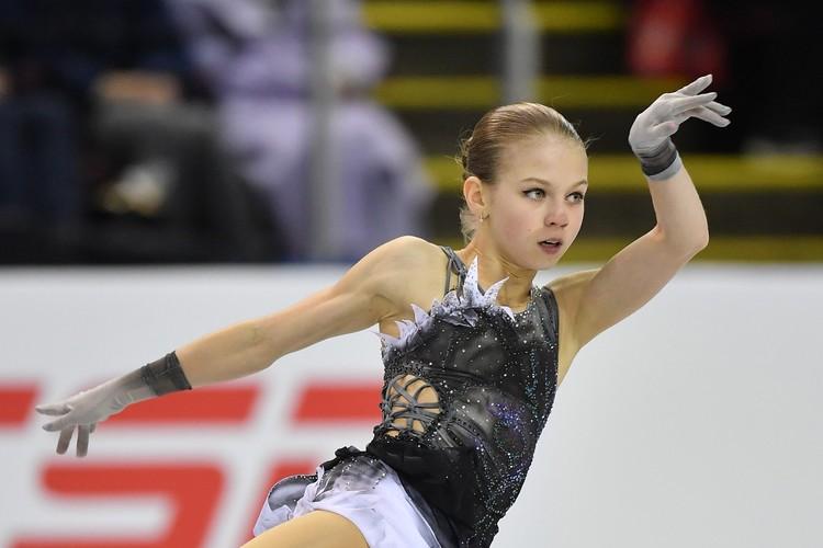 Александра Трусова в короткой программе побила свой рекорд сезона.