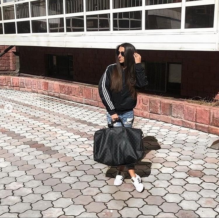 Образы Елены всегда очень разные. Фото: www.instagram.com/e.soboleva27.