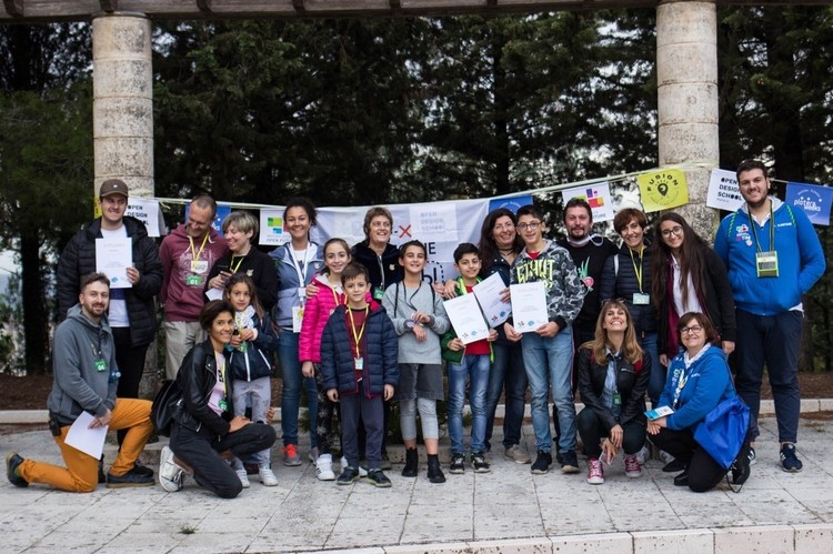 В ноябре сразу две Чистые Игры прошли в итальянском городе Матера Фото: vk.com/clean_games