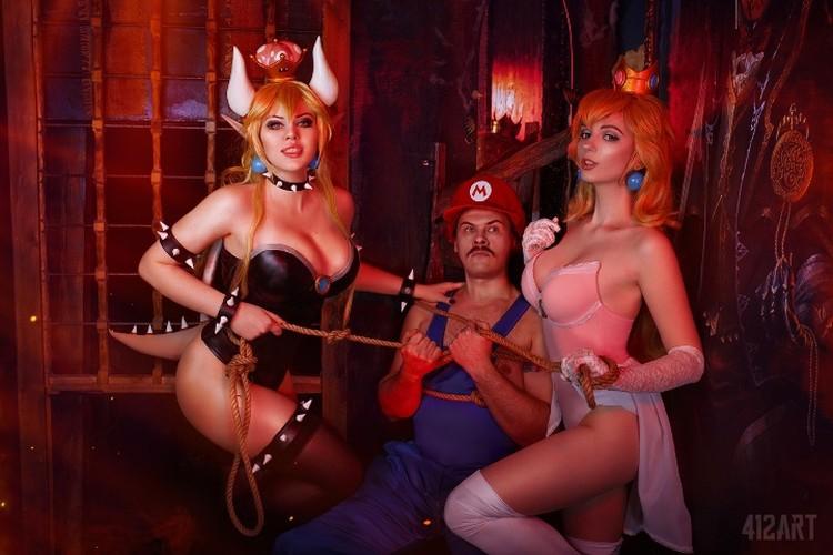 Как вам такой Марио? Фото: предоставлено Алисой Арефьевой.