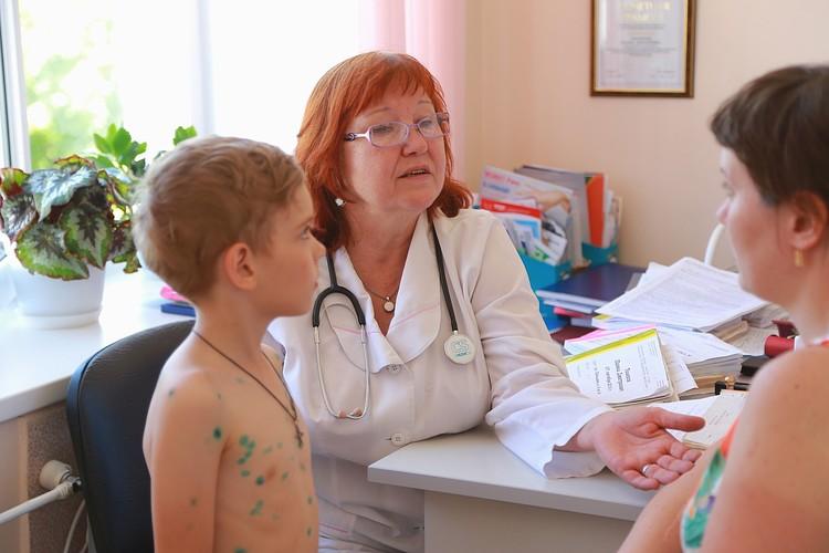 Родители малышей благодарны врачам за их нелегкий труд