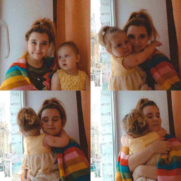 Мамочки советуют Полине меньше показывать дочку на камеру - могут сглазить. Фото: предоставлено героиней публикации