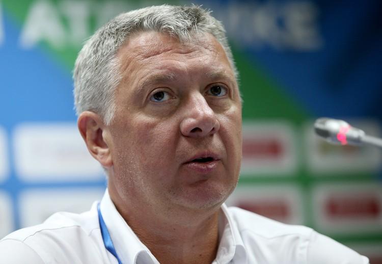 Президент Всероссийской федерации легкой атлетики Дмитрий Шляхтин. Фото: Егор Алеев/ТАСС