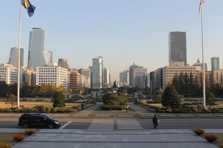 Территория Национального собрания Сеула, местного парламента