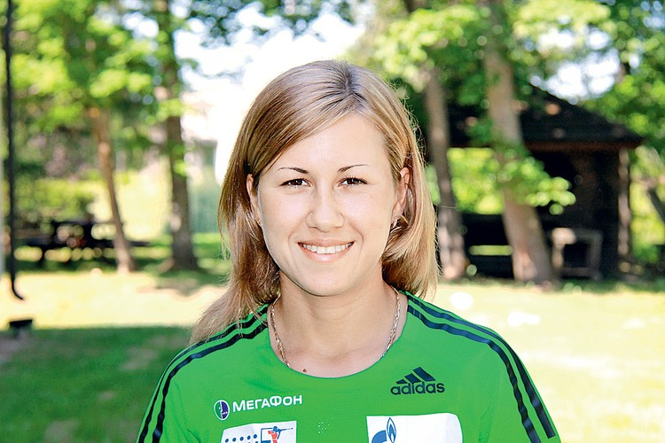 Старшая дочь спортсменки, Дарья Виролайнен, сейчас в декрете. Фото: vk.com