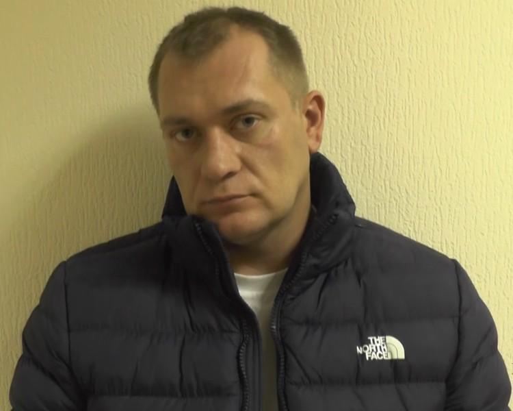 Белорус не отрицал вину Фото: МВД РФ