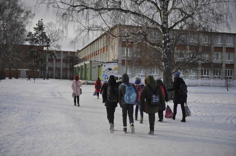 Школа № 142 - единственная в Горном Щите