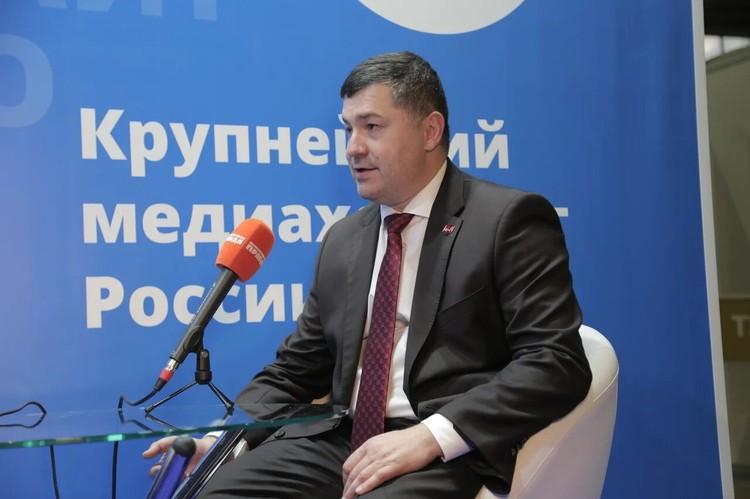 Генеральный директор Союза «Молодые профессионалы («Ворлдскиллс Россия») Роберт Уразов.