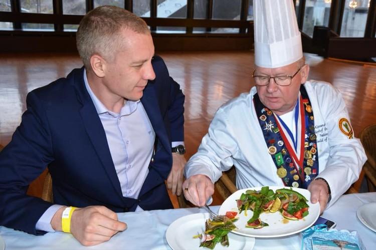 Президент поварской гильдии до сих пор помнит крымские огурцы