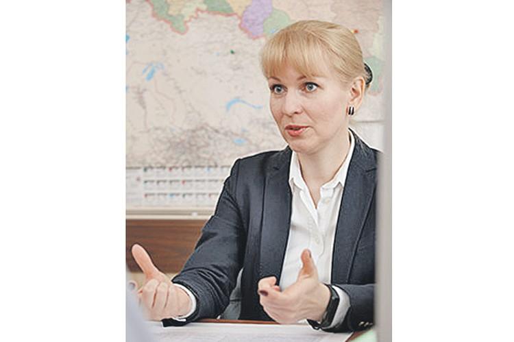 Первый зампред Фонда социального страхования РФ Татьяна Лотоцкая. Фото: fss.ru