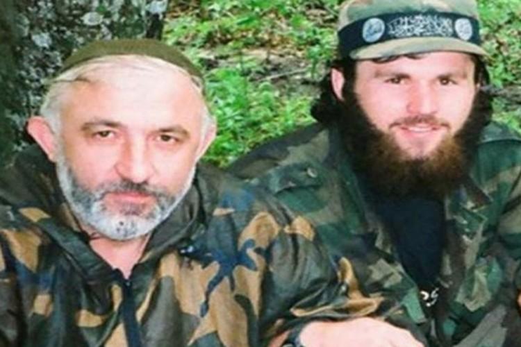 Зелимхан Хангошвили с Асланом Масхадовым.