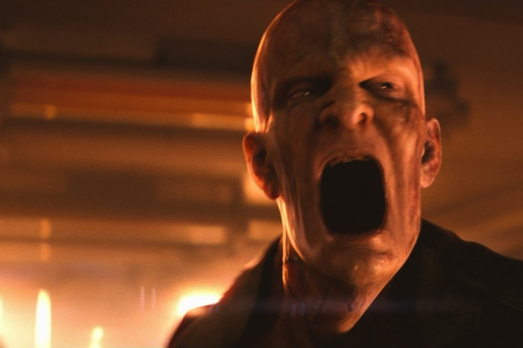 """Монстр из фильма """"Я легенда"""" - когда-то его, еще нормального, заразили вирусом, убивающим раковые клетки."""