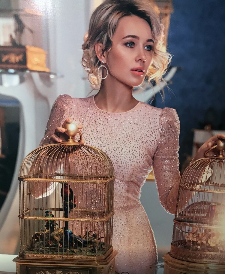 Январь - Анастасия Панина.