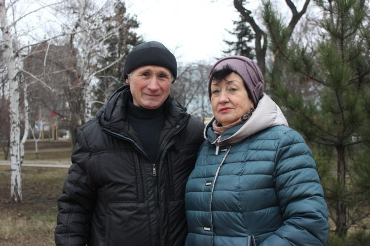 Валерий Назаренко с супругой Галиной во время аварии жили в Припяти