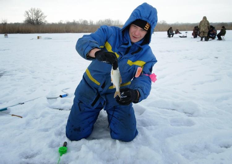 Зимняя рыбалка пользуется спросом