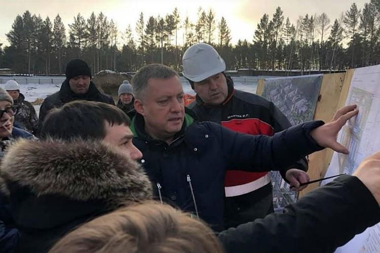 Врио губернатора Иркутской области Игорь Кобзев. Фото: Елена Кутергина.