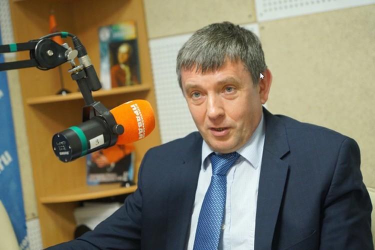 Ректор Уральского федерального университета В.А. Кокшаров