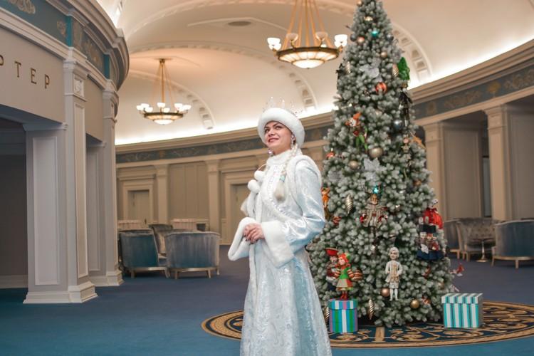 Екатерина любит детей, это и вдохновило ее стать Снегурочкой.