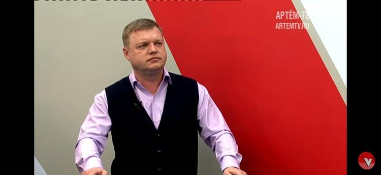 Главный инженер Артёмовской ТЭЦ Александр Гирберт.