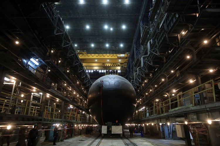 В ближайшие годы на Тихоокеанский флот должны отправиться еще три корабля проекта 636.3. Фото: пресс-служба завода «Адмиралтейские верфи».