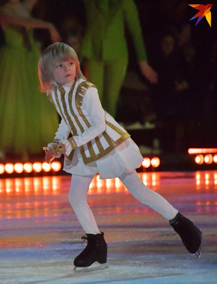 6-летний Саша Плющенко мечтает повторить карьеру отца-чемпиона