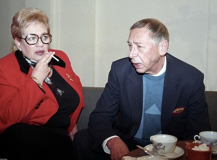 Режиссеры Галина Волчек и Олег Ефремов