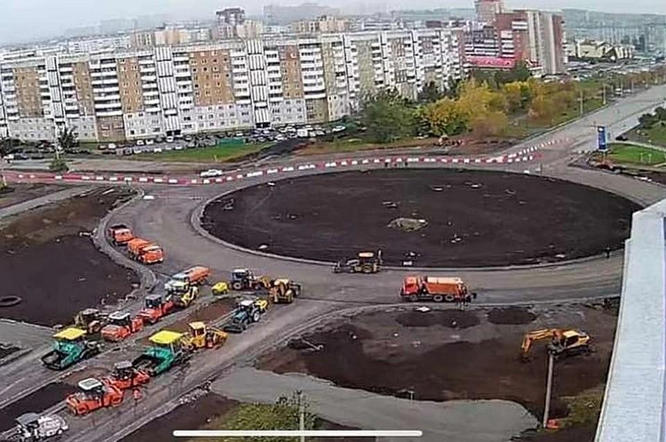 В Кемерове открыт проезд по кольцу на проспекте Химиков.ФОТО: Илья Середюк/ Instagram