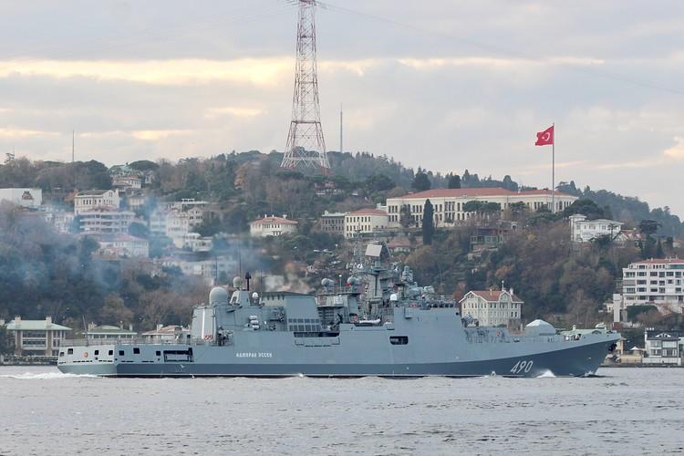 Кораблями ВМФ России в 2019 году выполнено 111 походов