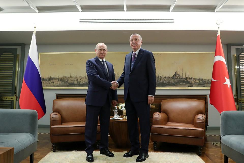 Переговоры президентов России и Турции должны были пройти до церемонии пуска «Турецкого потока». Фото: REUTERS
