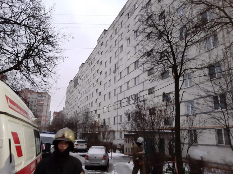 Пожар в Александрове