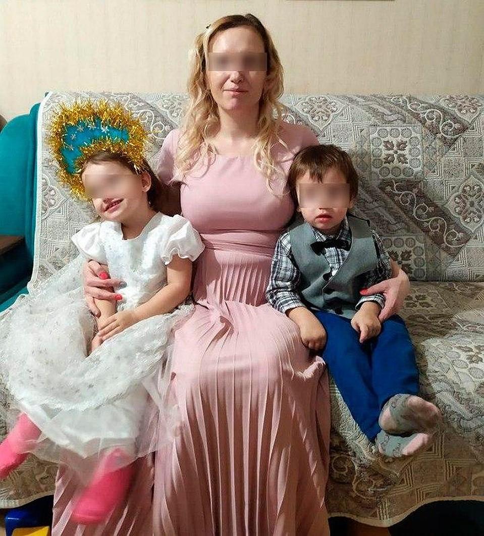 Марина одна воспитывала троих детей Фото: Личная страничка героя публикации в соцсети