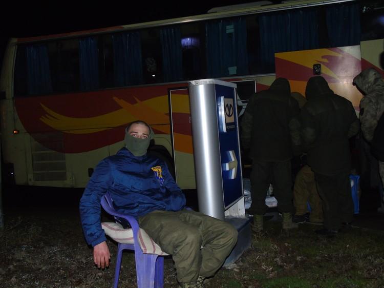 Поначалу идею поддержали бойцы «Азова»