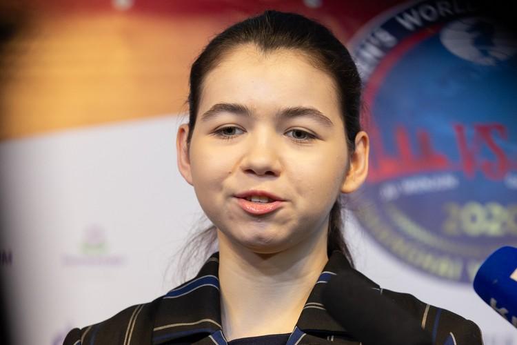 Александре Горячкиной всего 21 год, родилась она в Орске, а живет в Салехарде