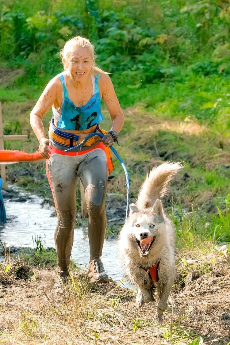 На финише собаку всегда ждет достойная награда. Фото: личный архив.