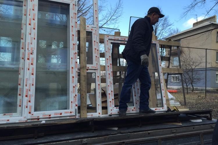 Как в ДНР восстанавливают разрушенное ВСУ жилье . Фото: Минстрой ДНР