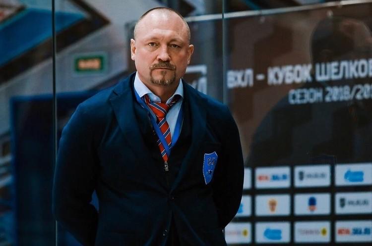 Максим Соколов в последнее время тренировал своего старшего сына Фото: СКА