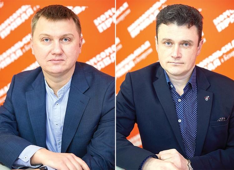 Сергей Гмир и Вячеслав Мулица.