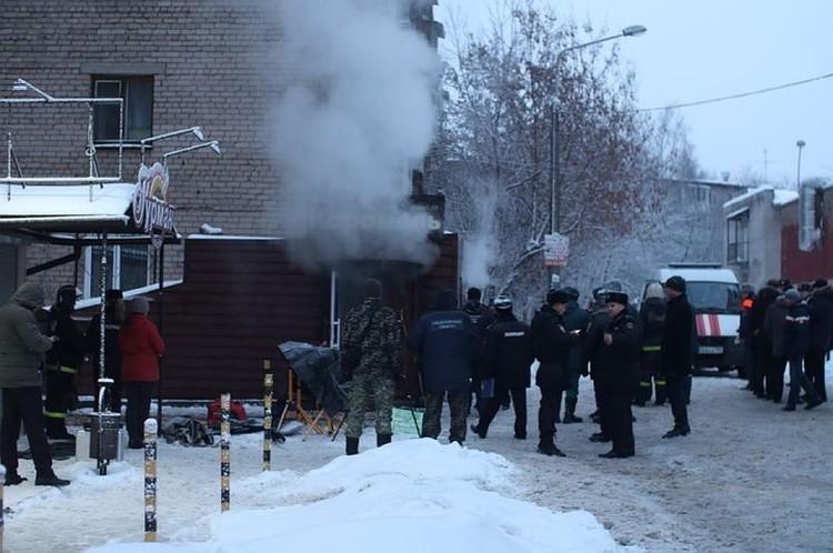 Погибли пять человек, еще шестеро получили множественные ожоги