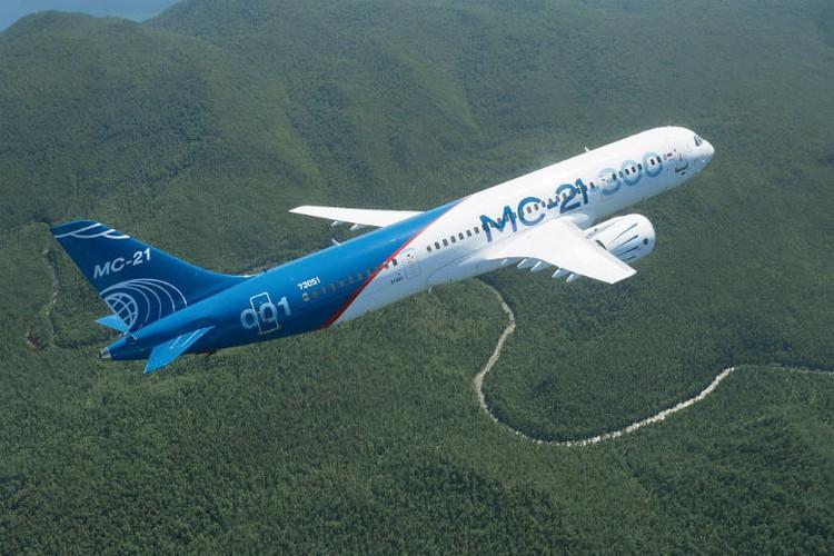 """Так выглядит новый лайнер МС-21. Фото: корпорация """"Иркут"""""""